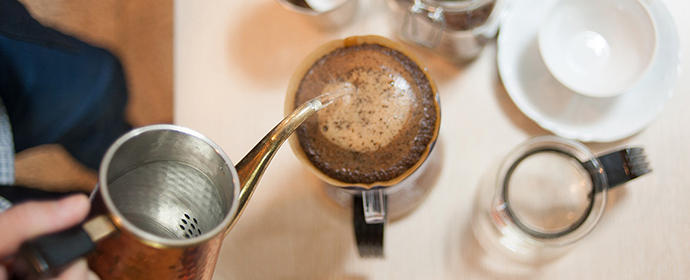 カフェや専門店で飲む味を作れる